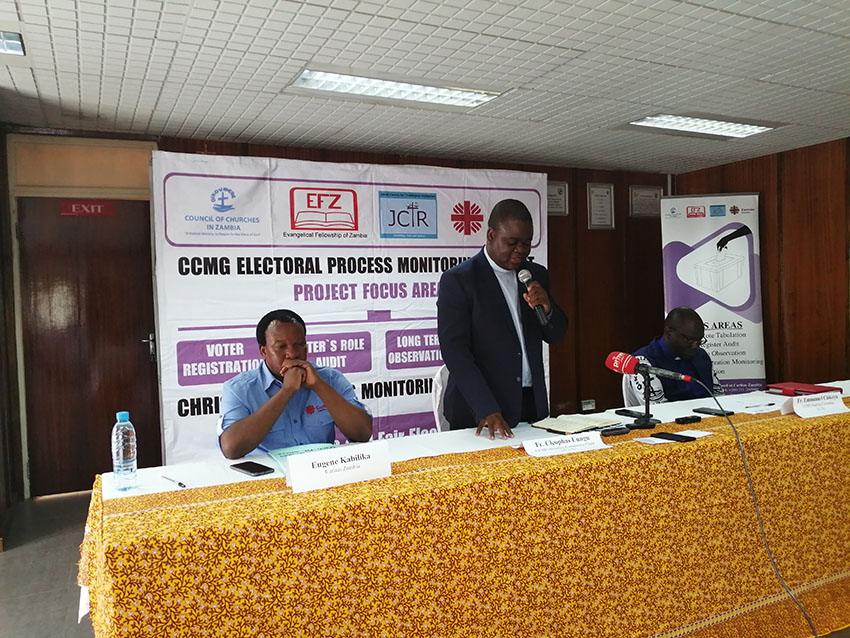 Christian Churches Monitoring Group (CCMG) For Free and Fair Elections
